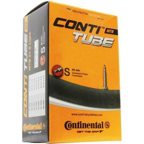 Continental Race 622 x 18/25 (700c) dobozos országúti belső gumi 60 mm hosszú szeleppel, presta