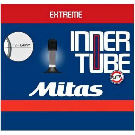 Mitas (Rubena) DH 27,5 x 2,1-3,0 (54/75-584) downhill belső gumi 35 mm hosszú szeleppel, autós