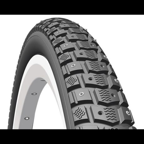 Mitas (Rubena) Froster R07 26x1,75 (47-559) szöges külső gumi (köpeny), 120 szöggel, defektvédett (APS), reflexcsíkos 22TPI, 830g