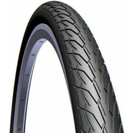 Mitas (Rubena) Flash V66 20 x 1,75 (47-406) külső gumi (köpeny), defektvédett (ST), reflexcsíkos 22TPI, 700g