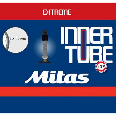 Mitas (Rubena) Extreme 27,5 x 2,1-3,0 (54/75-584) downhill belső gumi, FV47 (47 mm hosszú szeleppel, presta)
