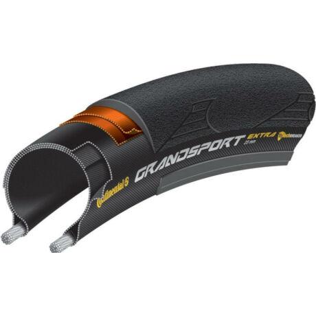Continental Grand Sport Extra 622-23 (700x23C) külső gumi (köpeny), defektvédett (Double Nytech Breaker), kevlárperemes, 280g