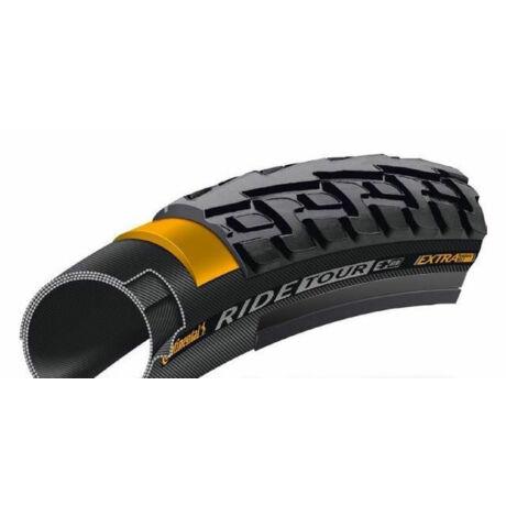 Continental Ride Tour 622-28 (700x28c - 28x1,1) külső gumi, defektvédett (Extra Puncture Belt), 510g