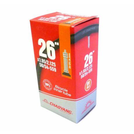 CYT 26 x 1,95-2,25 (50/54-559) MTB belső gumi, DV32 (32 mm hosszú szeleppel, dunlop)