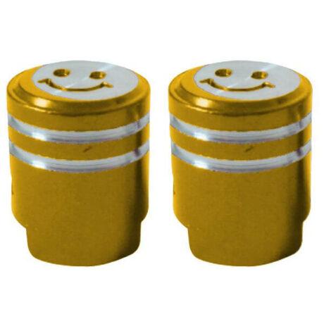 Acor AOS21301 dugattyú alakú alumínium szelepsapka, autó szelepes, párban, arany színű