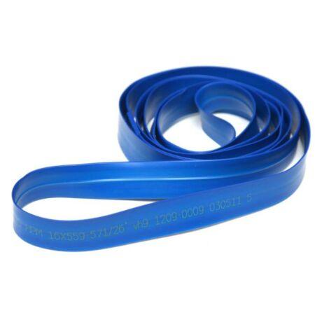 Herrmans HPM 29-es MTB (622x23 mm) tömlővédő PVC felniszalag, kék