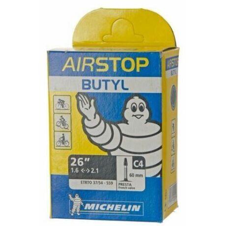 Michelin C4 AirStop 26 x 1,5-2,2 (37/54-559) MTB belső gumi 35 mm hosszú szeleppel, autós