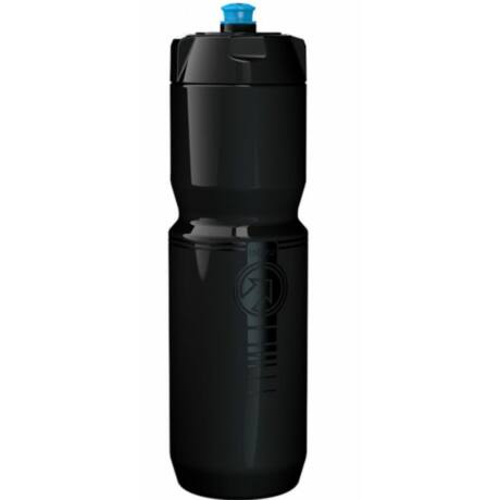 PRO Team műanyag kulacs, 800 ml, csavaros, fekete