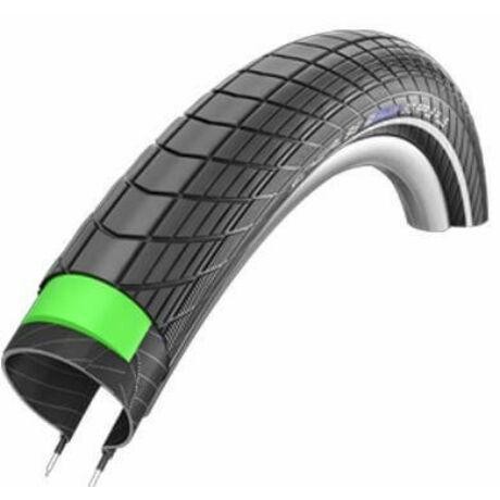 Schwalbe Big Apple Plus HS430 20x2,15 (55-406) külső gumi (köpeny), defektvédett (GreenGuard), reflexcsíkos, SBC, 730g
