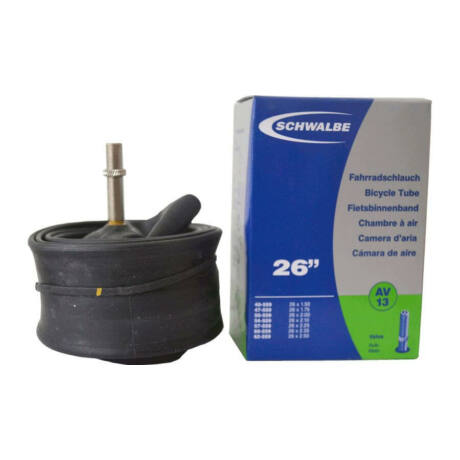 Schwalbe AV13 26 x 1,5-2,5 (40/62-559) MTB belső gumi 40 mm hosszú szeleppel, 190 g, autós