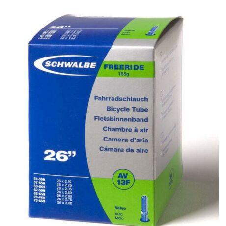 Schwalbe AV13FR 26 x 2,1-3,0 (54/75-559) freeride belső gumi 40 mm hosszú szeleppel, 185 g, autós