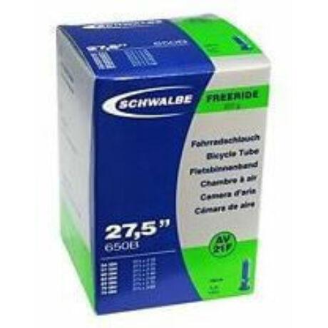 Schwalbe AV21F 27,5 x 2,1-3,0 (54/75-584) Freeride MTB belső gumi 40 mm hosszú szeleppel, 200 g, autós