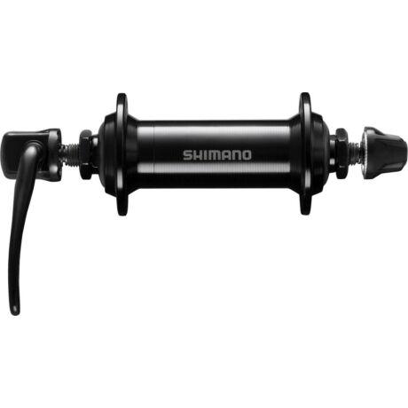 Shimano Tourney HB-TX500 trekking első kerékagy, 36H, gyorszáras, fekete