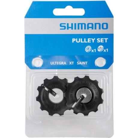 Shimano Ultegra-XT-Saint váltógörgő szett (alsó és felső), 10s, 11T, műanyag, fekete