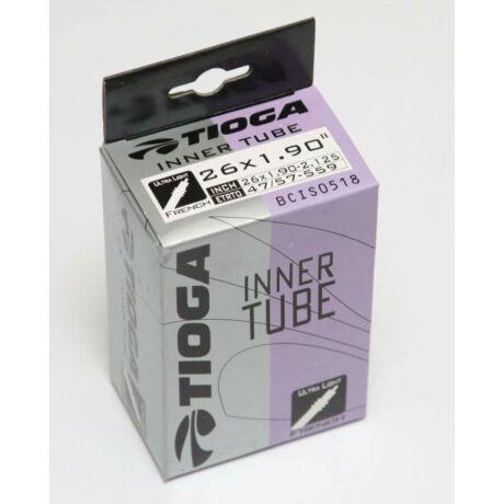 Tioga Super Light 26 x 1,75-2,125 (47/54-559) belső gumi 33 mm hosszú szeleppel, presta