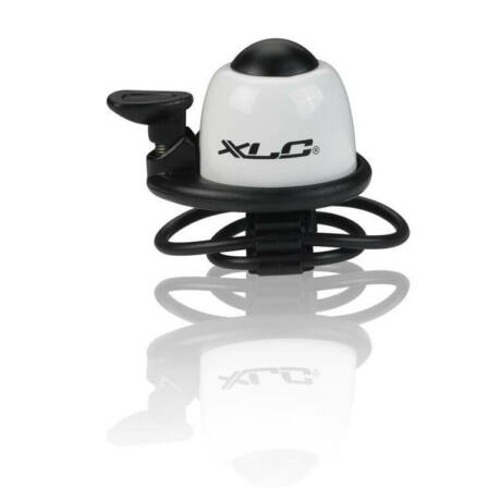 XLC DD-M09 pengetős, gumipántos alu csengő, fehér