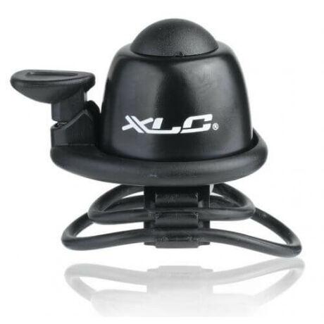 XLC DD-M09 pengetős, gumipántos alu csengő, fekete