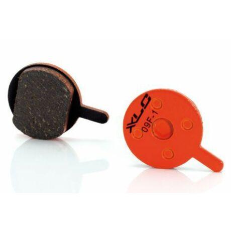 XLC BP-O01 tárcsafék fékbetét Promax DSK 400, Xnine fékhez, acél alap, organikus pofa, 1 pár