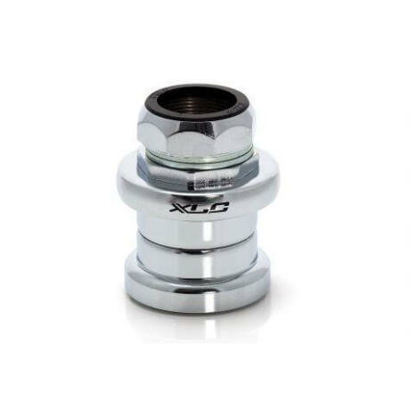 XLC HS-S01 1 colos menetes külső csészés kormánycsapágy, golyóskosaras, acél csészés, ezüst