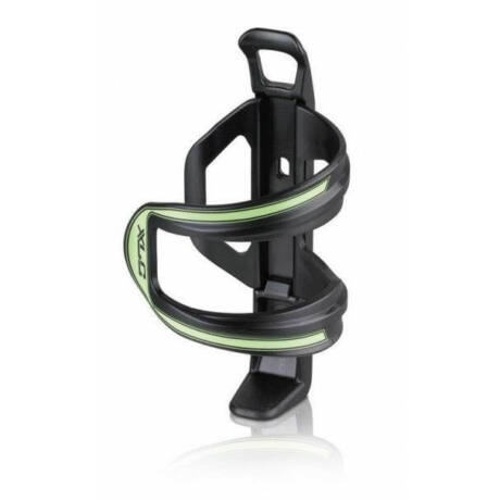 XLC BC-S06 Side Cage oldalról nyitott műanyag kulacstartó, jobbos-balos, fekete-zöld