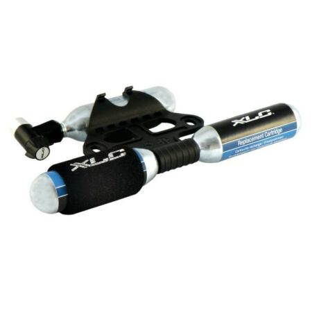XLC PU-M03 CO2 minipumpa, minden szeleptípushoz, 3x16 grammos patronnal