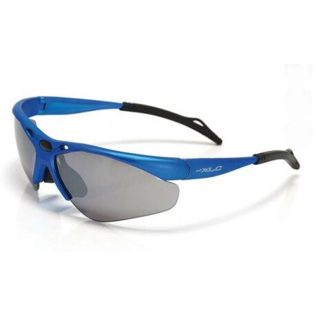 XLC SG-C02 Tahiti sportszemüveg, cserélhető lencsés, kék, 3 lencsével
