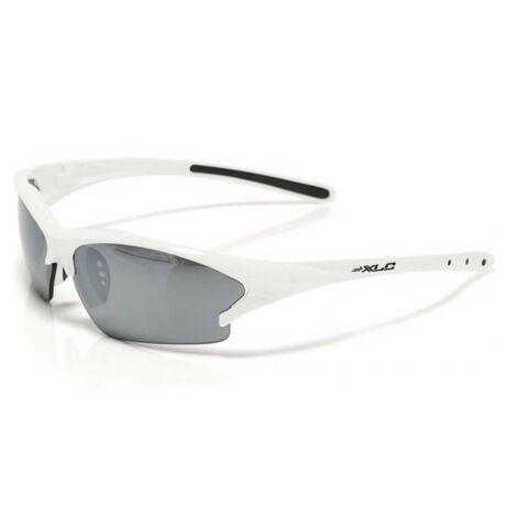 XLC SG-C07 Jamaica kerékpáros sportszemüveg, cserélhető lencsés, fehér, 3 lencsével