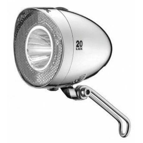 XLC CL-F20 Retro elemes első lámpa, 20 lux, króm