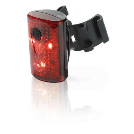 XLC CL-R14 Pan USB-ről tölthető hátsó lámpa nyeregcsőre, 3 LED