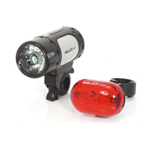 XLC CL-S07 Comp Cupid - Oberon 1W elemes első és hátsó POWER LED lámpa szett, elemekkel