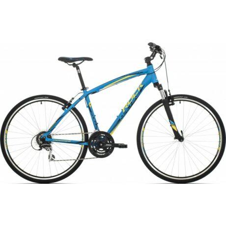 Rock Machine CrossRide 200 2018 28-as férfi krossz kerékpár, alumínium, 24s, 22-es vázméret, kék-sárga-fekete