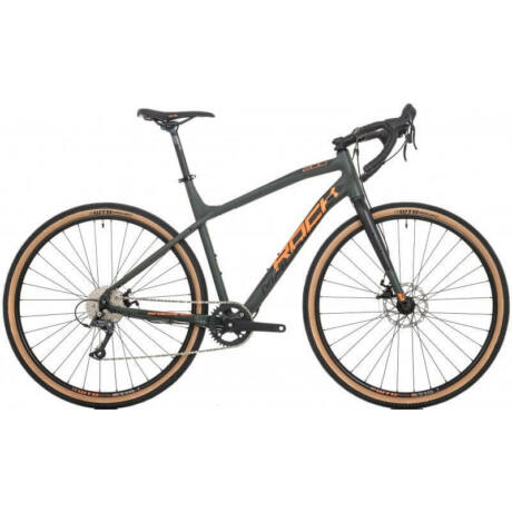 Rock Machine Gravelride 200 2020 gravel kerékpár, 8s, alumínium, 53 cm-es vázméret, matt khaki-narancs-fekete