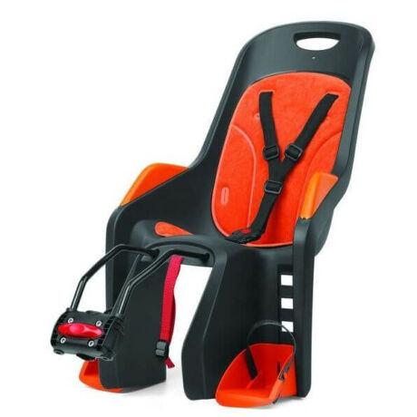 Polisport Bubbly Maxi adapteres gyerekülés (vázra), szürke-narancs