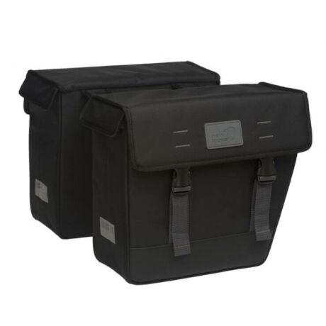 NewLooxs Origin Double Hybride Black két részes táska csomagtartóra, 33L, fekete