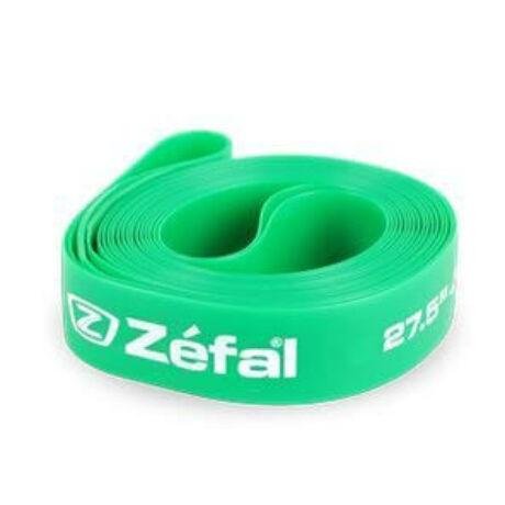 Zefal Soft PVC 27,5-es (584x20 mm) 650B MTB nagynyomású tömlővédő felniszalag, párban, zöld