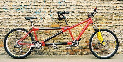 Karbon tandem kerékpár