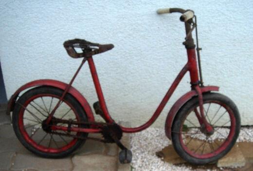 Az első kerékpárom