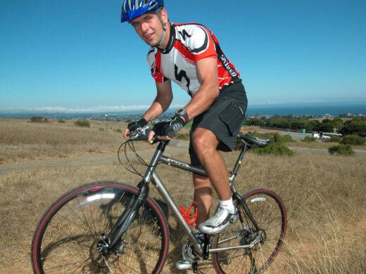 Kalifornibána kerékpárral