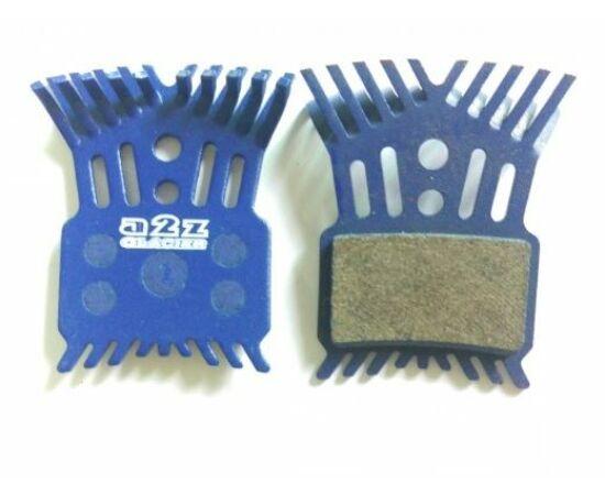 a2Z AZ-296K tárcsafék betét Avid Elixir fékekhez, hűtőbordás, acél alap, organikus pofa
