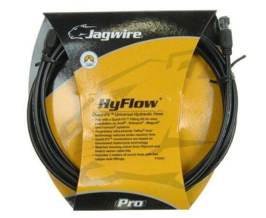 Jagwire HyFlow fekete hidraulikus fékcső tárcsafékhez