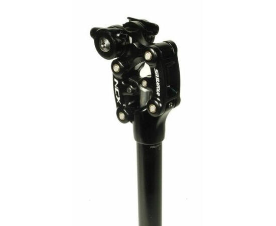 Suntour NCX2 rugós nyeregcső fekete 27,2 x 350 mm