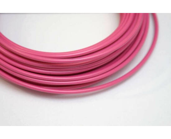 Saccon teflonos fékbowden-ház rózsaszín