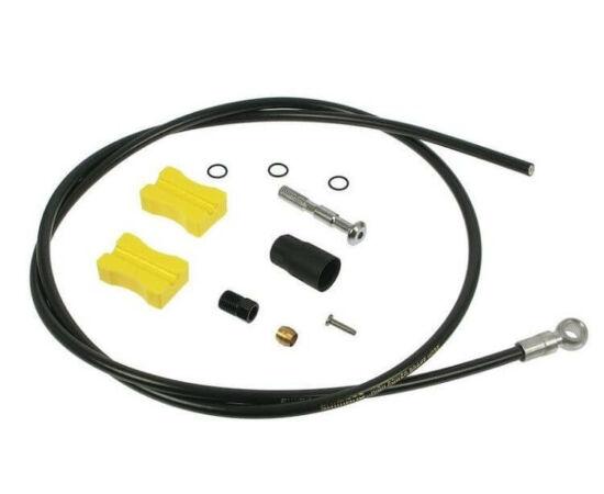 Shimano SM-BH90-SB hidraulikus fékvezeték 100 cm, Banjo-s, egyik oldalon szabható, fekete