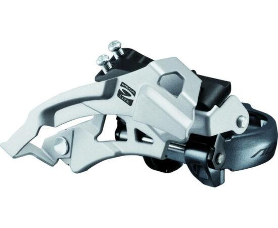 Shimano Alivio FD-M4000 első váltó alsó bilincses, 9s, 34,9 mm (31,8 és 28,6 adapterrel)