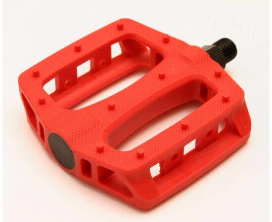 Spyral Solid NYC műanyag platform pedál, piros
