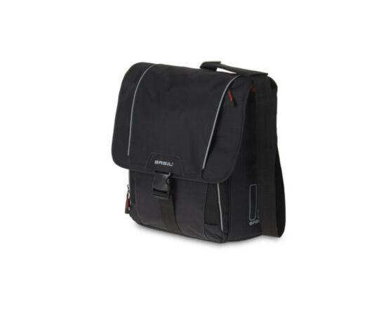 Basil Sport Design-Commuter táska csomagtartóra, fekete