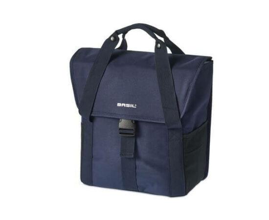 Basil Go egy részes táska csomagtartóra, 18L, fekete