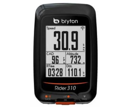 Bryton Rider 310E GPS vezeték nélküli kerékpáros komputer