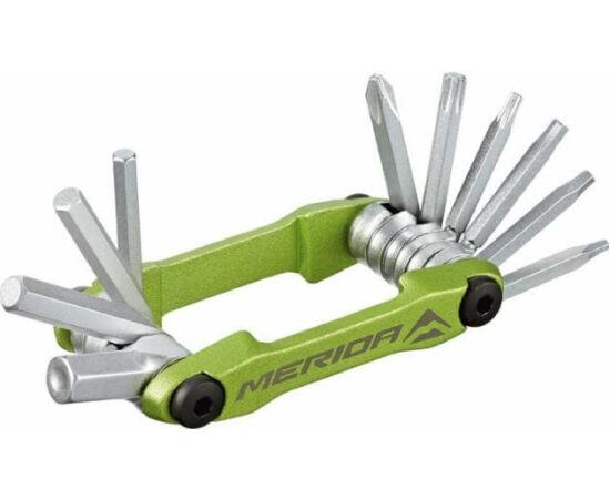 Merida Multi 4302 marokszerszám, 10 funkciós, zöld
