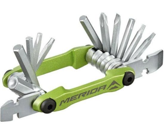 Merida Multi 4324 marokszerszám, 17 funkciós, zöld